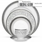 Noritake Summit Platinum 5-Piece Place Setting-Sample