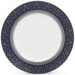 Noritake Odessa Cobalt Platinum Accent Plate