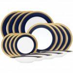 Noritake Odessa Cobalt Gold 16-Piece Set