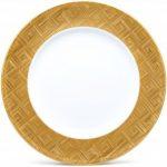 Noritake Noble Ensemble Gold Platter/Charger-Round, 12 3/4″