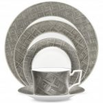 Noritake Noble Ensemble Platinum 5-Piece Place Setting