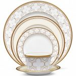 Noritake Trefolio Gold 5-Piece Place Setting Sample