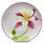 Noritake Colorwave Clay Accent/Luncheon Plate-Floral, 8 1/4″