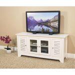 53 Inch Modern White TV Stand