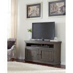 54 Inch Distressed Gray TV Stand – Willow