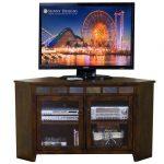 55 Inch Brown Corner TV Stand – Santa Fe