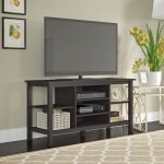 55 Inch Espresso Oak TV Stand – Broadview