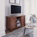 56 Inch Maple Brown TV Stand – Tahoe