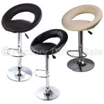 3 Colors Swivel Counter Bar Stool