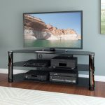58 Inch Black TV Stand – New York