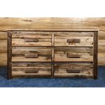 6-Drawer Dresser – Homestead