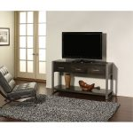 60 Inch Charcoal Modern TV Stand – Mar Vista