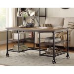60 Inch Industrial Writing Desk – Iron Works