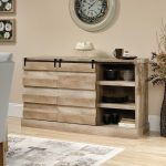 60 Inch Lintel Oak Rustic TV Stand – Cannery Bridge