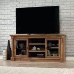 60 Inch Vintage Oak TV Stand – Vine Crest