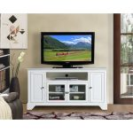 60 Inch White TV Stand – Irvington