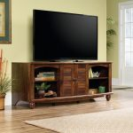 62 Inch Cherry Brown TV Stand – Harbor View