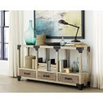 64 Inch Antique White TV Stand – Reclamation Place