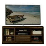 68 Inch Acacia Brown TV Stand – Modern Gathering