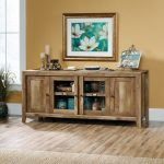 70 Inch Rustic Oak TV Stand – Dakota Pass