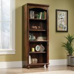 72 Inch Cherry Brown Bookcase – Harbor View