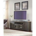 74 Inch Distresssed Gray TV Stand – Willow