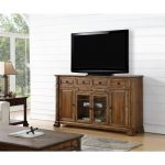 75 Inch Rustic Brown TV Stand – Barclay