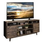 76 Inch Charcoal Brown TV Stand – Avondale