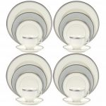 Noritake Aegean Mist 20-Piece Set-Service for 4