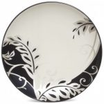 Noritake Colorwave Graphite Accent/Luncheon Plate-Plume, 8 1/4″