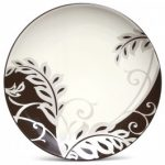 Noritake Colorwave Chocolate Accent/Luncheon Plate-Plume, 8 1/4″
