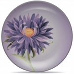 Noritake Colorwave Plum Accent/Luncheon Plate-Floral, 8 1/4″