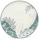 Noritake Colorwave Green Accent/Luncheon Plate-Plume, 8 1/4″