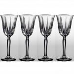 Noritake Vendome Clear Wine, 7 1/2 oz, Set of 4