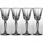 Noritake Vendome Clear Goblet, 9 oz, Set of 4