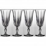 Noritake Vendome Clear Iced Beverage, 12 oz, Set of 4