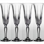 Noritake Vendome Clear Champagne Flute, 5 oz, Set of 4