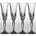 Noritake Vendome Clear Champagne Flute, 5 oz, Set of 4