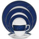 Noritake Platinum Wave Indigo 5-Piece Place Setting