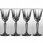 Noritake Vendome Platinum Wine, 7 1/2 oz, Set of 4