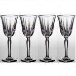 Noritake Vendome Platinum Goblet, 9 oz, Set of 4