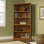 Abbey Oak 5-Shelf Bookcase
