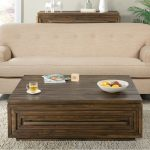 Acacia Brown Wood Coffee Table – Modern Gathering