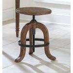 Adjustable Oak Stool – Northcote