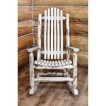 Adult Log Rocker – Montana