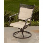 Agio Outdoor Patio Sling Swivel Rocker – Manhattan