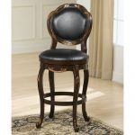 Alaina Cherry/Copper 30 Inch Barstool