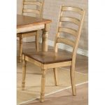 Almond and Wheat Ladder Back Country Dining Room Chair – Quails.
