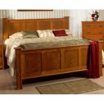 Amish Pine Queen Panel Bed