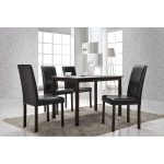 Andrew Dark Brown Dining Chairs (Set of 4)